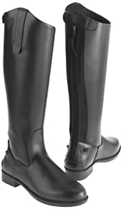Just Togs Men's Classic Tall Riding Boots, Black, Size 4
