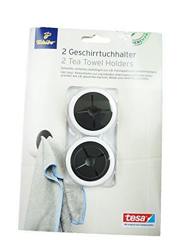 TCM Tchibo 2 x Geschirr - Tuchhalter Handtuchhalter Geschirrtuchhalter Aufhängen