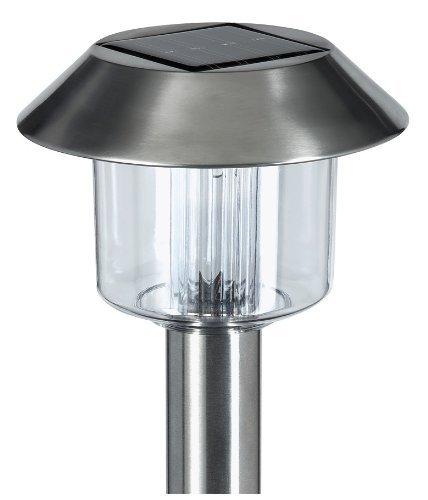 Les LAMPES LÉGÈRES SOLAIRES d'ACIER INOXYDABLE De JARDIN du MARTIN-PÊCHEUR 10PC ONT PLACÉ SL1010