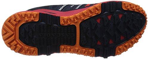 Brooks Cascadia 10, Chaussures de course homme Rouge - Rot (HighRiskRed/Satsuma/BlackIris)