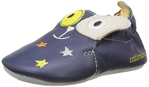 Catimini Geai, Chaussures Quatre Pattes (1-10 mois) Bébé Garçon Bleu (12 Vte Marine Dpf/Souple)