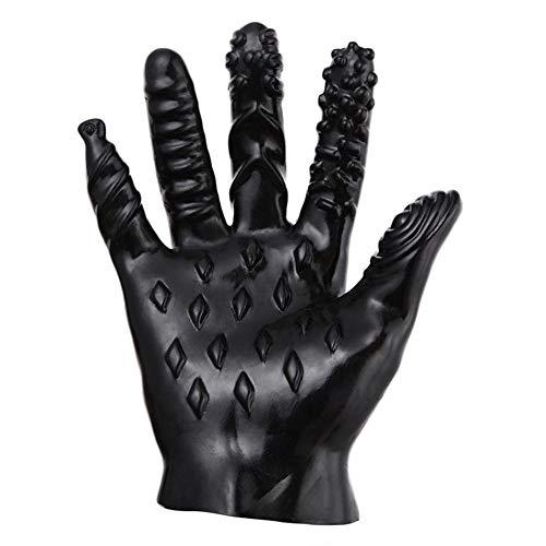 5-Finger Masturbation Handschuhe Cute Erotic Massage Flirten Adult Sex Toy Für Männer Frauen