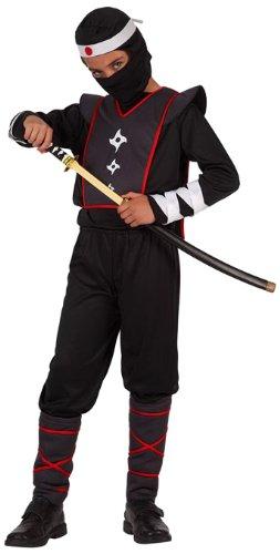 Atosa 6474Ninja Kostüm Boy Kostüm–Größe (Weißer Ninja Anzug)