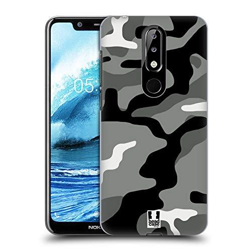 Head Case Designs Night Shift Militärische Tarnfarben Ruckseite Hülle für Nokia 5.1 Plus / X5