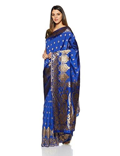 Aalia Art Silk Embroidererd Saree with...