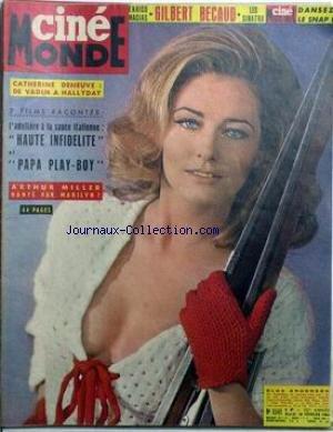 CINEMONDE [No 1541] du 18/02/1964 - ENRICO MACIAS - GILBERT BECAUD - LES SINATRA - DANSEZ LE SNAP. CATHERINE DENEUVE - DE VADIM A HALLYDAY. 2 FILMS RACONTES - L'ADULTERE A LA SAUCE ITALIENNE - HAUTE INFIDELITE ET PAPA PLAY-BOY. ARTHUR MILLER HANTE PAR MARILYN MONROE. ELGA ANDERSEN. par Collectif
