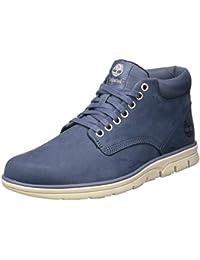 Timberland Men's Bradstreet Chukka Leather High-top Sneakers