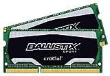 Ballistix Sport 8GB Kit (4GBx2) DDR3 1866 MT/s (PC3-14900) SODIMM 204-Pin Memory - BLS2C4G3N18AES4CEU