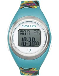 Solus Unisex Digital Watch with LCD Dial Digital Display and Blue Plastic or PU Strap SL-800-009