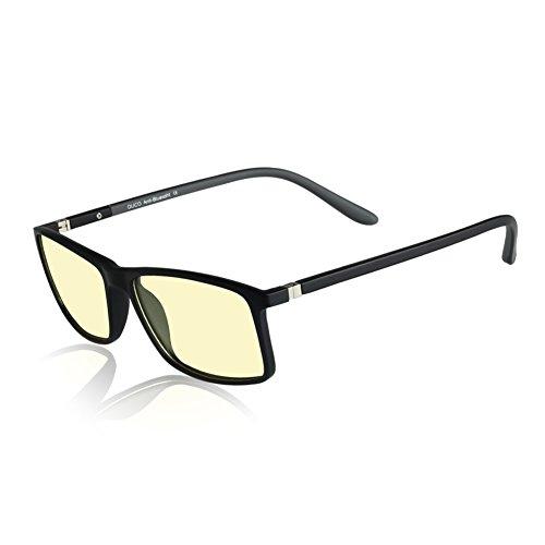 Occhiali per gioco duco 228 anti-eblouissement protezione uv anti-fatigue occhiali anti luce blu per schermi smartphone, tablet, computer o tv
