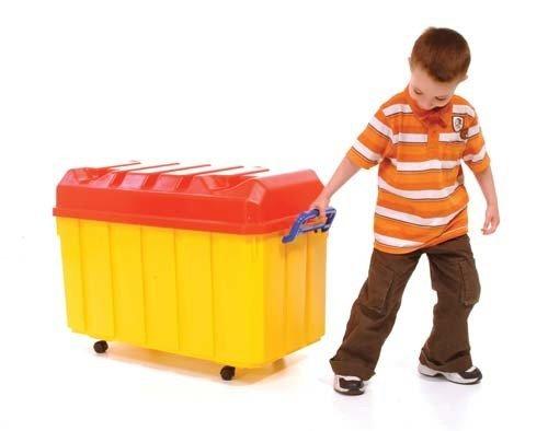 Childrens actividades de interior juegos juguete recipiente bañera portátil PVC almacenamiento Pecho