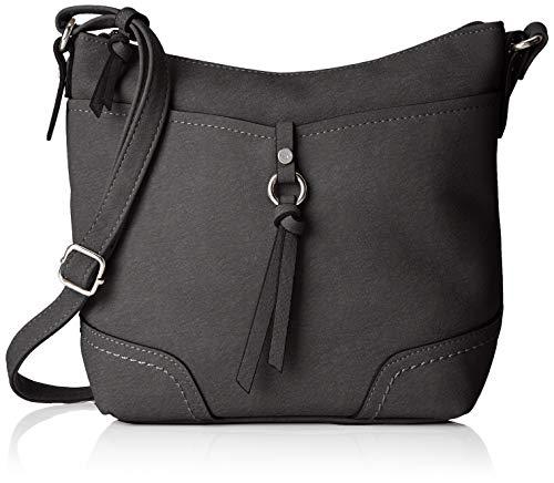 TOM TAILOR Umhängetasche Damen Imeri, (Schwarz), 28x25x8.5 cm, TOM TAILOR Handtaschen, Taschen für Damen, klein