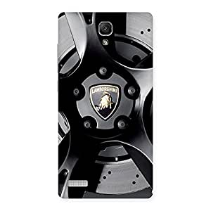 Stylish Lm Wheel Back Case Cover for Redmi Note