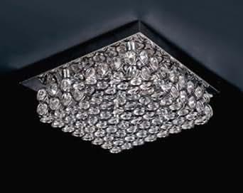 Kronleuchter Kristallleuchte Deckenlampe Deckenleuchte Hängeleuchte Kristall Lampe Leuchte Modern Chandelier von Design61