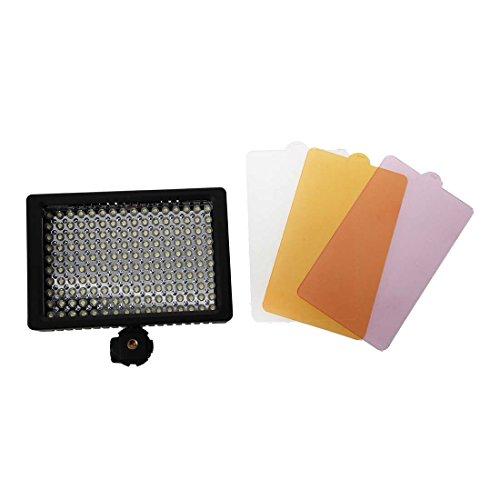 Cikuso HD-160 LED-Videoleuchte Fuer Kamera DV Camcorder Beleuchtung 5400K