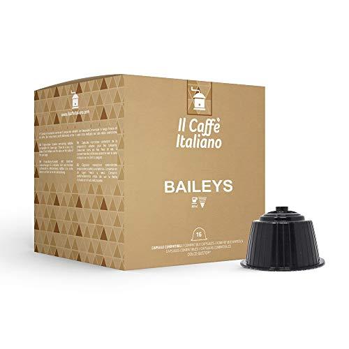 FRHOME - 48 cápsulas compatibles Nescafè Dolce Gusto Baileys - Il Caffè Italiano