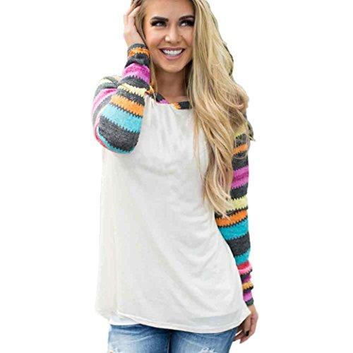 bzline-femme-coton-sweat-shirt-a-capuche-manche-longue-a-couleur-melangee-m-blanc