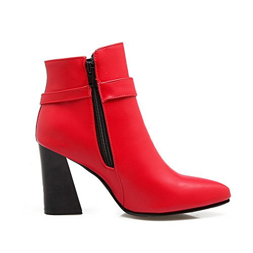 Balamasaabl09440 - Red Neck Femme Rouge