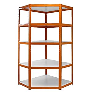 Monster racking tag re meuble d 39 angle en m tal pour for Etagere metal rangement garage