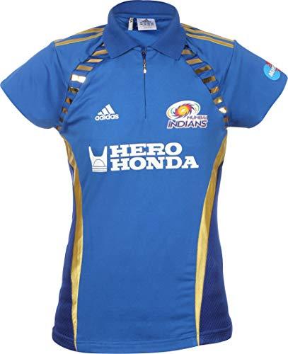 adidas Herren Cricket-Trikot Mumbai Indians, Blau, XS
