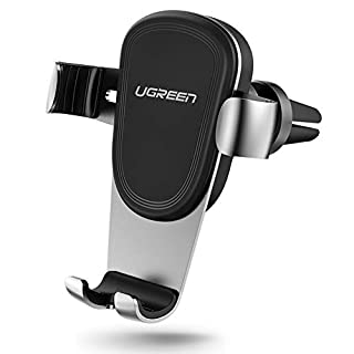UGREEN Car Phone Holder, Gravity Air Vent Car Mount Holder, Auto Clamping for iPhone XS Max/XR / X, Samsung Galaxy S9 / S8 / Note 8, Huawei P20 / P10 / Mate 10 Pro, Blackview, Xiaomi, HTC, Moto, etc