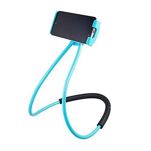 Lazy Halterung Handy Halter – Universal hängen auf Hals Lazy Handy DIY Halterung Gratis drehbar Ständer auf Tisch Smart mehrere Funktionen Handy-Halterung Ständer (70 D-gps)