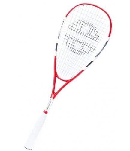 Unsquashable DSP600 Graphit Squashschläger US500 Besaitung zirka 200g rot