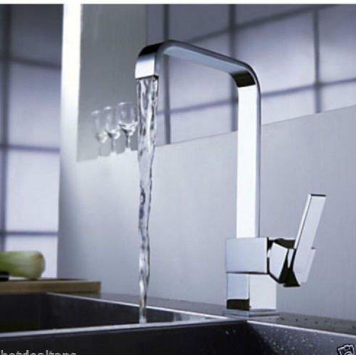 MASCARELLO® Modern Square Victoria Chrome Kitchen Sink / Bathroom Basin Mixer Tap