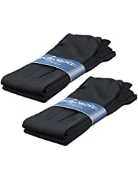 2 | 4 | 6 Paar Thermo Damen Kniestrümpfe schwarz und farbig flauschig warm Innenflanell