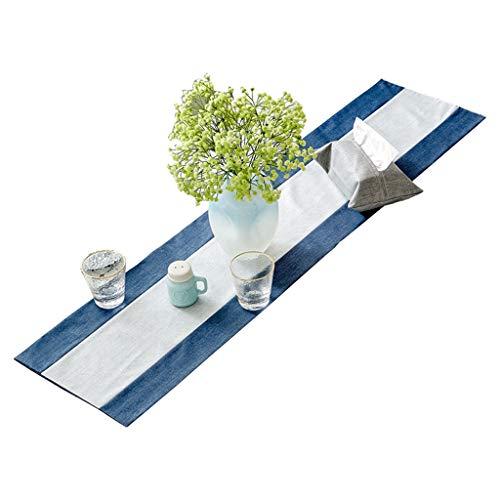 MXCZLQH Rechteckige TischläUfer Wasserdicht rutschfeste Tischdecke Aus Baumwolle Und Leinen Mit Chinesischer Zen-Tee-Flagge -