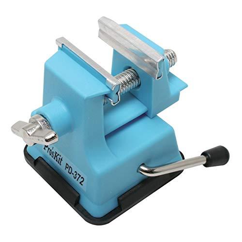 Mini-Schraubstock - Ideal für den (kleinen) Modellbau - Leicht, sicher, fest auf jedem flachen Untergrund - Für Öffnungen bis 25 mm - C344115