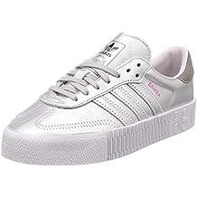 scarpe adidas argentate