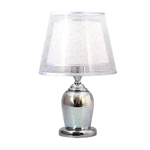 LAZ Lámpara de sobremesa de Vidrio Moderna, con Efecto de Fuegos Artificiales...