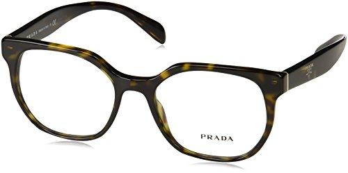 Prada - PRADA HANDBAG LOGO PR 02UV, Rechteckig Acetat Damenbrillen