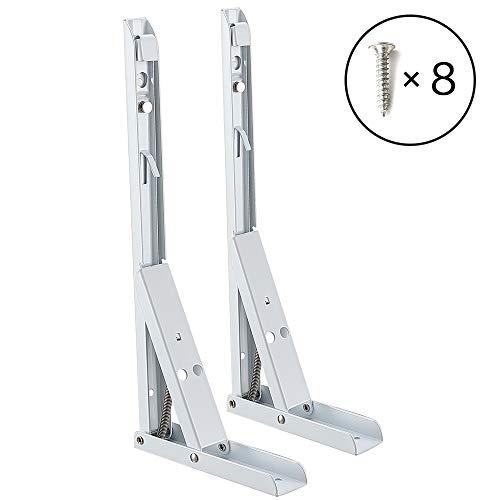 Soportes Plegables para Estantes Escuadras de Metal Soporte Triangular - 200 *...