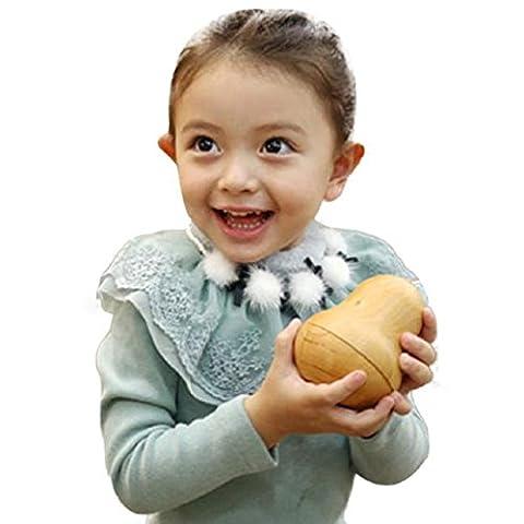 Malloom Bébé Filles Collier Fille Perle Bowknot Accessoires Du Vêtement
