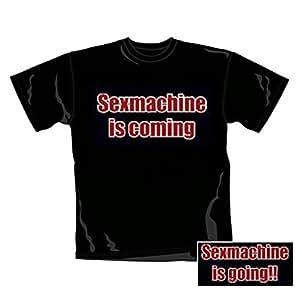 Fun-Shirts - T-Shirt Sexmachine (in XXL)