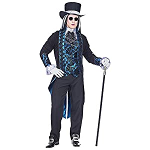 WIDMANN Disfraz de Vampiro Victoriano para Hombre M
