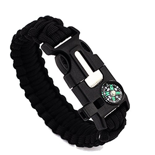 umissdecor-5-in-1-multifunction-outdoor-rope-paracord-survival-gear-escape-bracelet-flintwhistlecomp