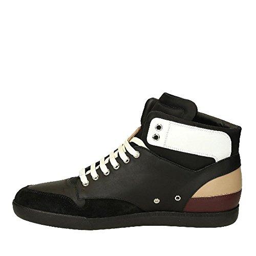 Baskets montantes Dior homme en cuir noir - Code modèle: 3SH057WXO 960 Noir
