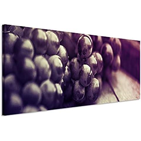 150 x 50 cm mural in Mauve foto su tela su barella UVA su un barile di alta qualità