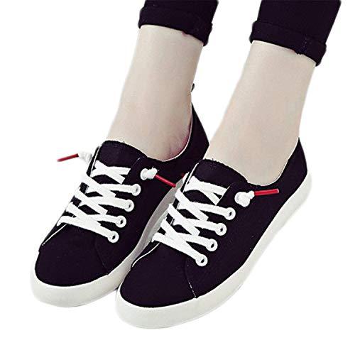 e0ea5bfada11a 2018 Fashion Canvas Shoes Women Vulcanization Shoes Brand Woman Breathable  Casual Flats White Shoes Black 8