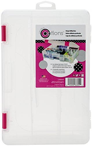 Creative Options Tief 3600Utility Box, mehrfarbig, 27.94X 20,3x 7,62cm (Box Utility Tief)