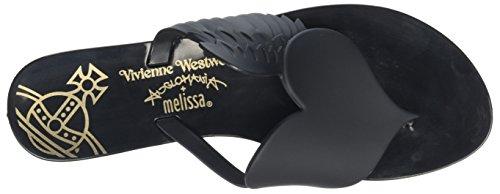 Vivienne Westwood & Melissa Vivienne Westwood Harmonic Cherub, Sandales Plateforme femme Black (black Matt)