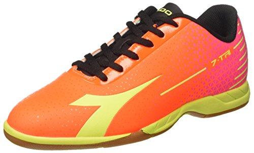 Diadora Herren 7-Tri ID Fußballschuhe Rot (Fluo Red/fluo Yellow Dd)