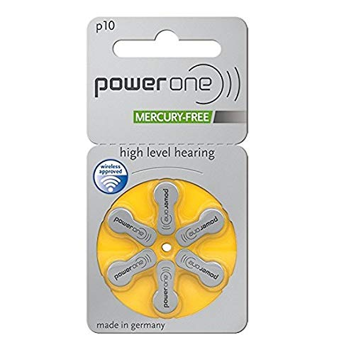 60 x Varta Powerone p10 Mercury Free Quecksilberfrei Hörgerätebatterie