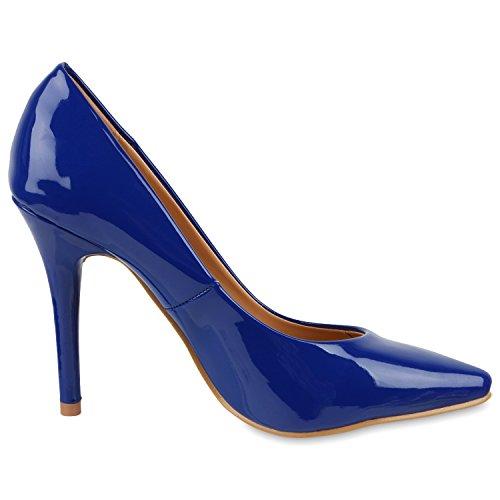 napoli-fashion , Coupe fermées femme Bleu