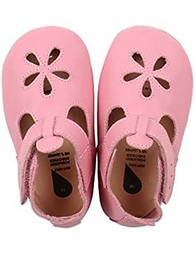 BOBUX 4307 Baby Krabbelschuhe Sandale rosa Gr.: M (9-15 Monate)
