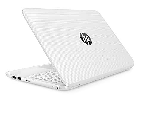 HP Stream 11-y003na 11.6-inch Laptop (Snow White) - (Intel Celeron
