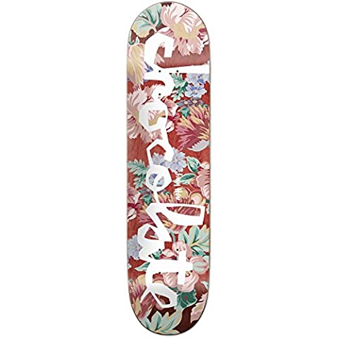 CHOCOLATE DECK FLORAL CHUNK HSU 8.25 X 32